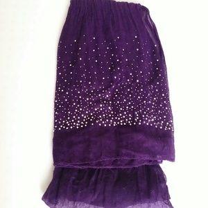 Accessories - Color Me Purple Wrap